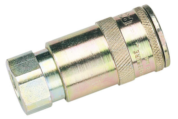 Draper 51401 A91CF02 1/4 BSP Taper Female Thread Vertex Air Coupling Thumbnail 2