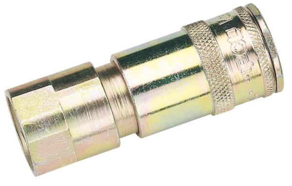 Draper 51406 1/2 BSP Taper Female Thread Vertex Air Coupling Thumbnail 1