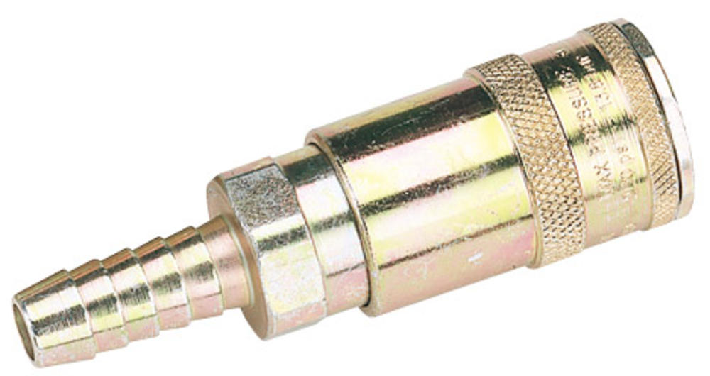 Draper 51417 A91T02 3/8 Bore Vertex Air Line Coupling With Tail