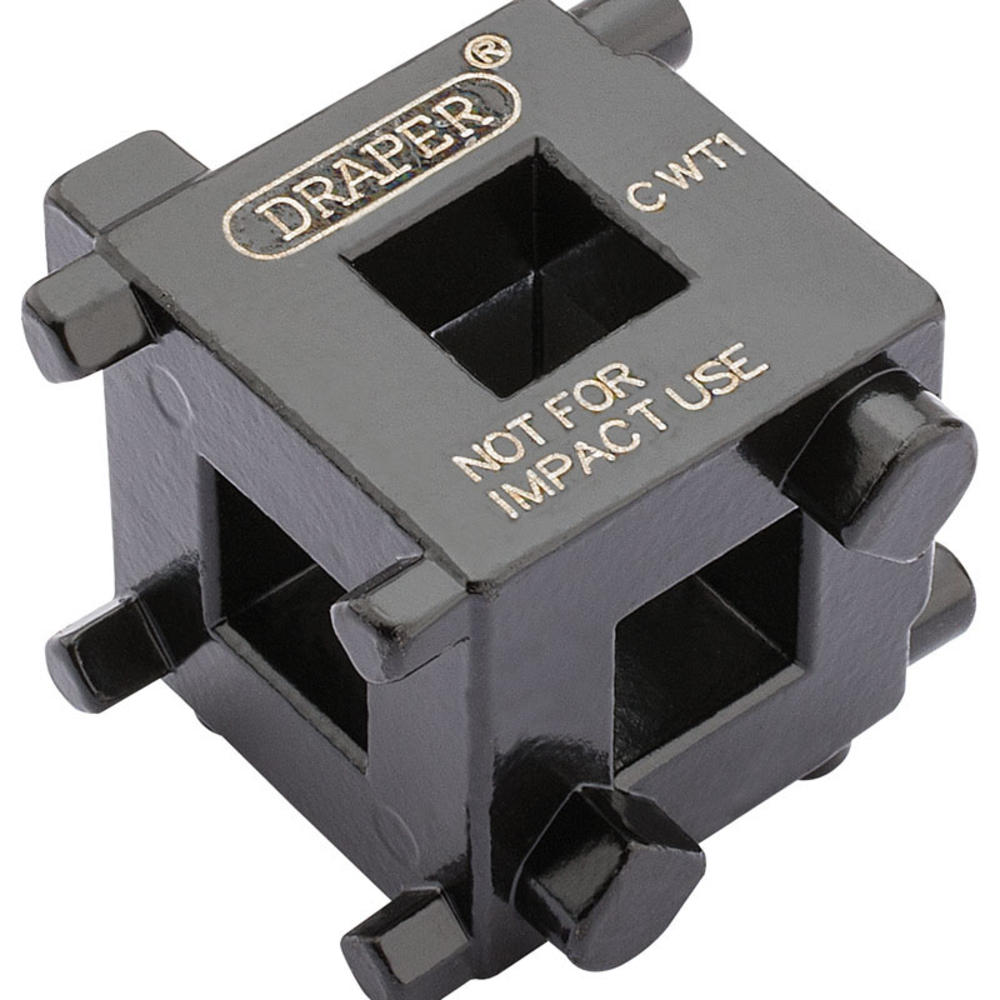 Draper 52334 CWT1 3/8 Square Drive Brake Caliper Wind Back Cube