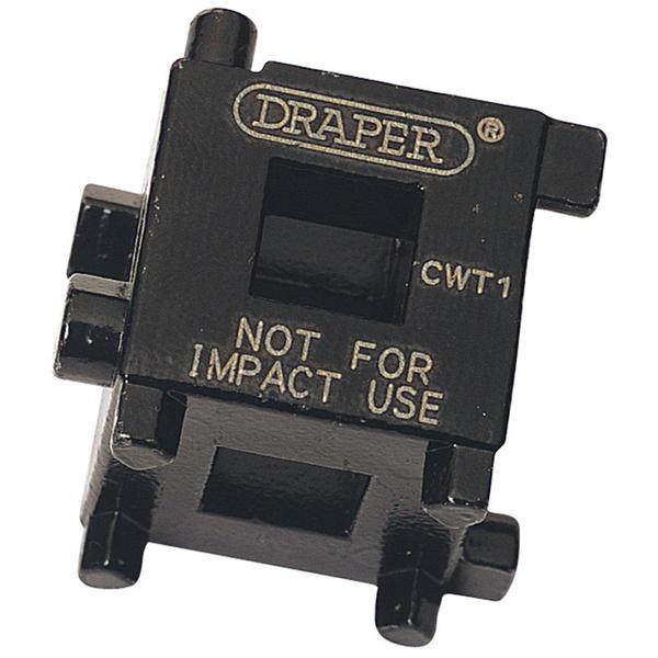 Draper 52334 CWT1 3/8 Square Drive Brake Caliper Wind Back Cube Thumbnail 2