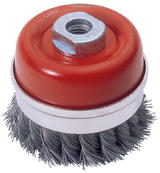 Draper 52632 CB80T 80mm x M14 Twist Knot Wire Cup Brush
