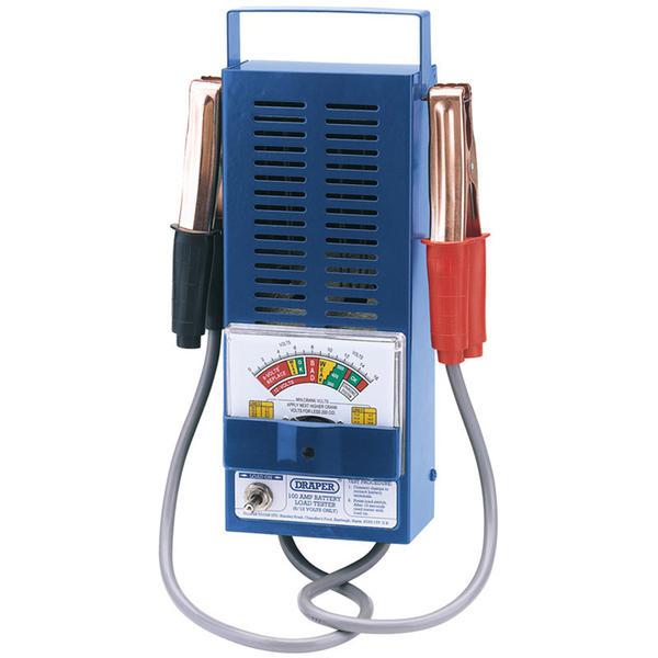 Draper 53090 BLT100 100Amp Battery Load Tester Thumbnail 1