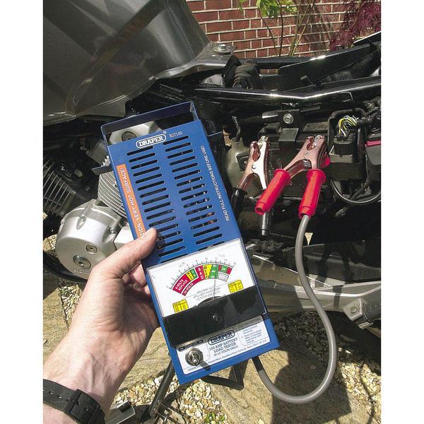 Draper 53090 BLT100 100Amp Battery Load Tester Thumbnail 2