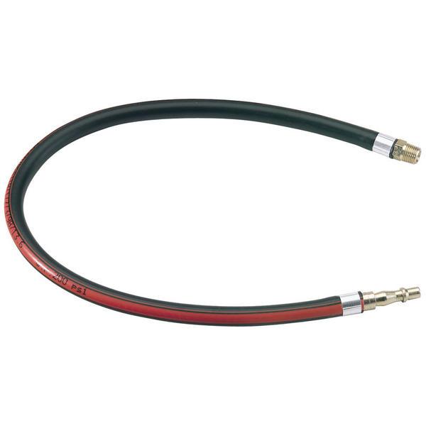 Draper 54438 4311 600mm 1/4 BSP Air Line Whip Hose Thumbnail 1