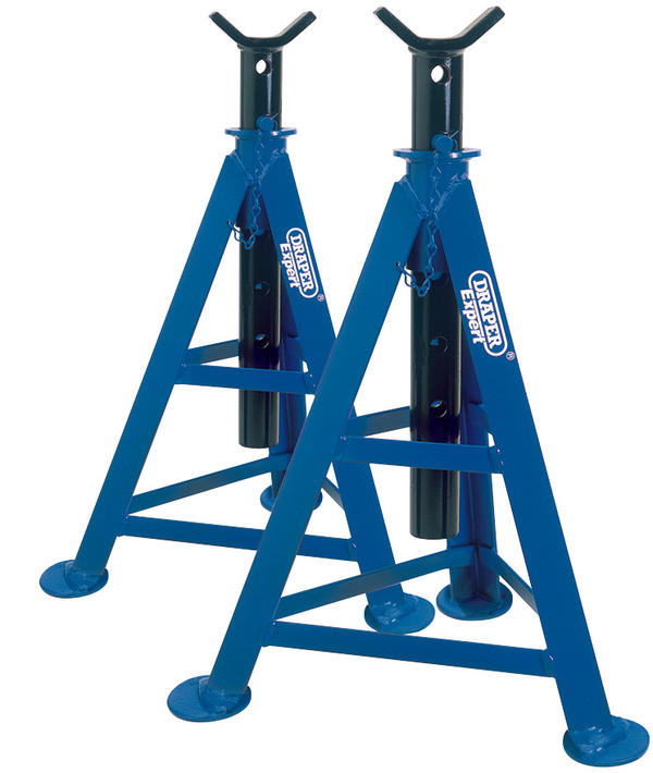 Draper 54722 AS6000 6 Tonne Axle Stands (Pair) Thumbnail 1
