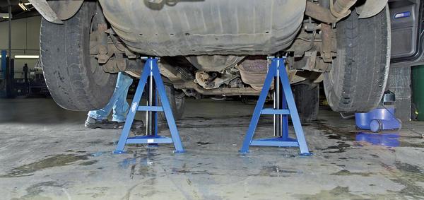 Draper 54722 AS6000 6 Tonne Axle Stands (Pair) Thumbnail 2