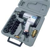 "Draper 55360 4201HDKA 15 Piece 1/2"" Square Drive Heavy Duty Air Impact Wrench Kit"