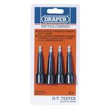 Draper 56495 1179 4 Piece H.T. Tester Set