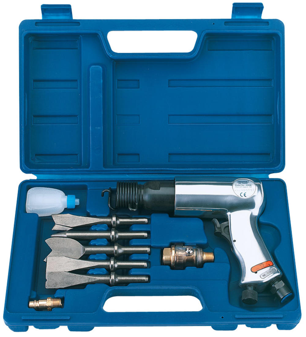 Draper 57676 4202AK Air Hammer and Chisel Kit