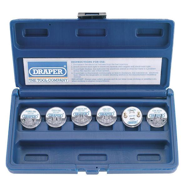 Draper 57798 INL6/KIT 6 Piece Injector Noid Light Kit Thumbnail 4