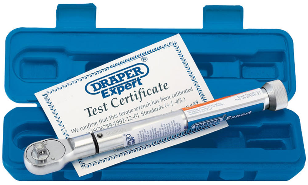 """Draper 58130 EPTW5-22 Expert 3/8"""" Sq. Dr. Precision Torque Wrench"""