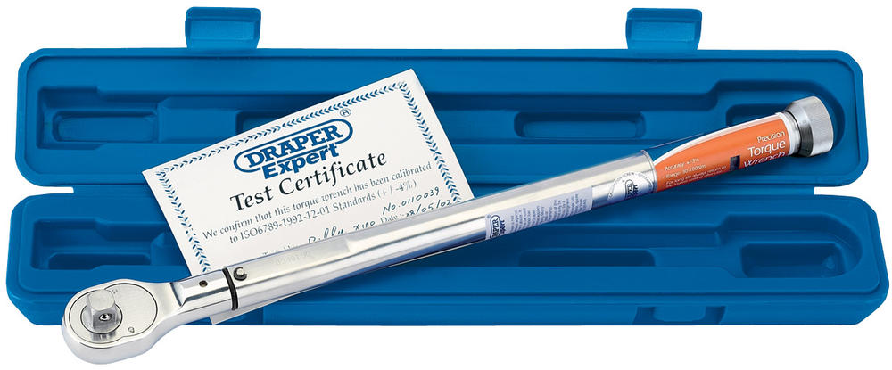"""Draper 58138 EPTW30-100 Expert 1/2"""" Sq. Dr. Precision Torque Wrench"""