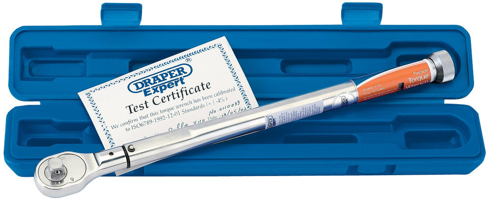 """Draper 58139 EPTW50-180 Expert 1/2"""" Sq. Dr. Precision Torque Wrench"""
