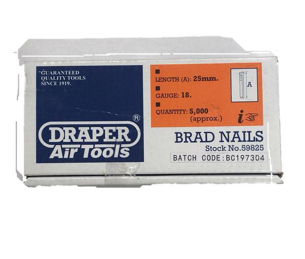 Draper 59827 AAN32 32mm Brad Nails (5000) Thumbnail 2
