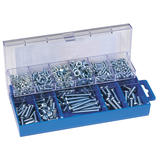 Draper 61272 HW6 Panhead Screw And Nut Assortment 366 Pce