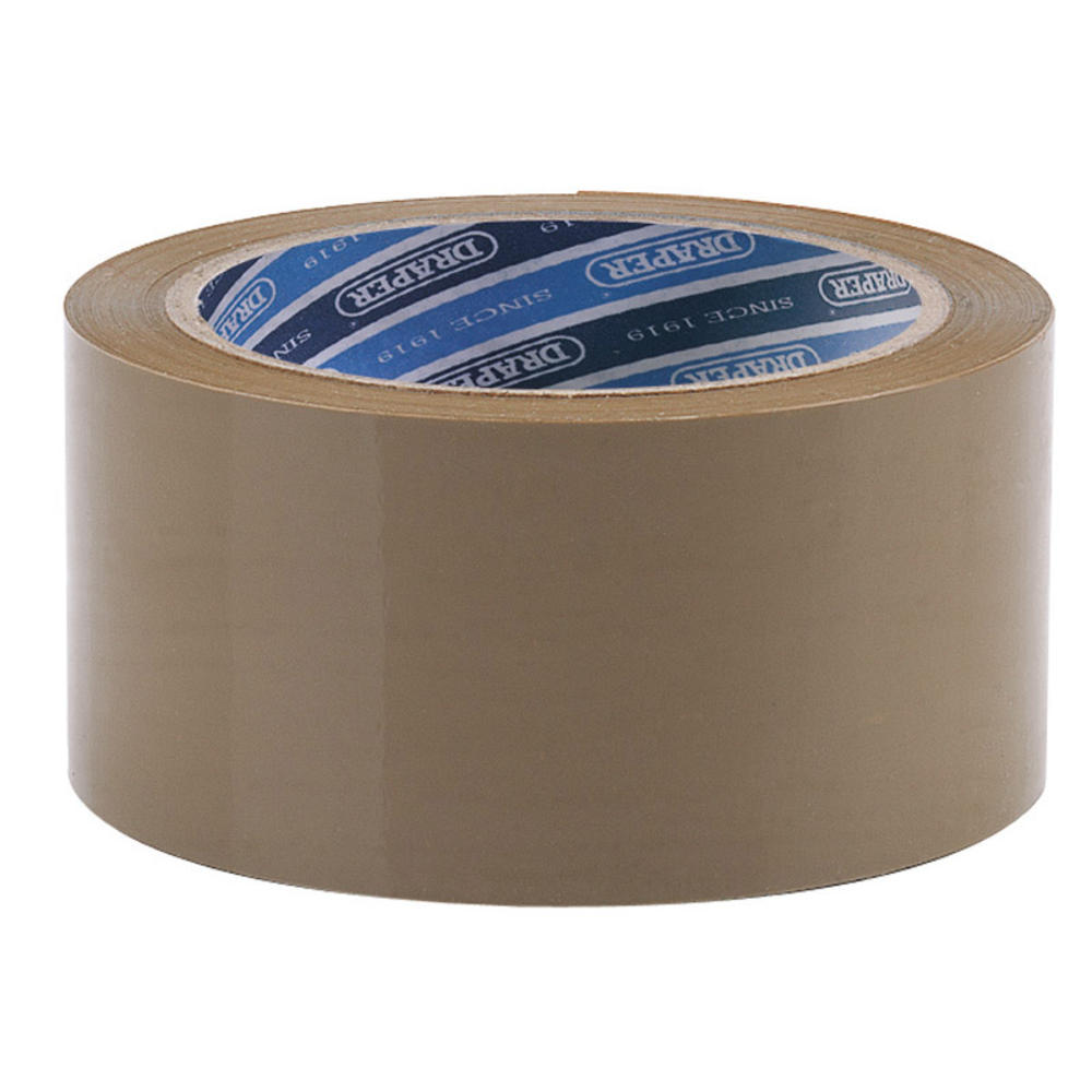 Draper 63388 TP-PACK 66M x 50mm Packing Tape Roll