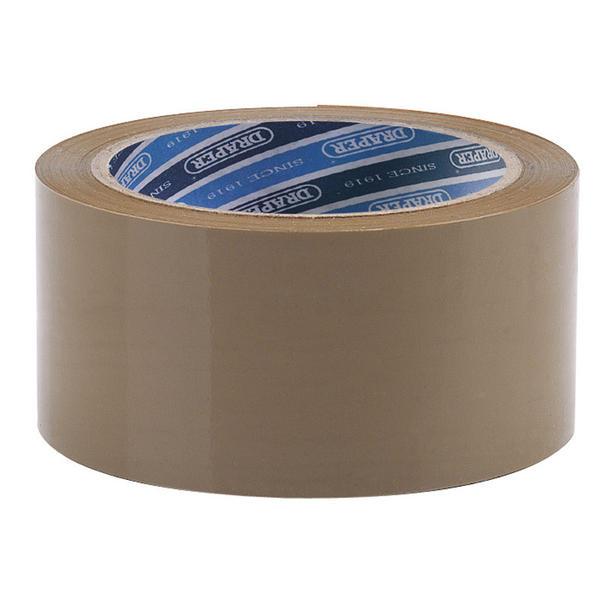 Draper 63388 TP-PACK 66M x 50mm Packing Tape Roll Thumbnail 1