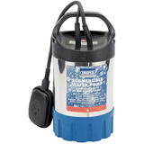 Draper 64275 SWP120ASS Submersible Water Pump With Float Switch