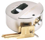 Draper 64525 8317/73 Expert 73mm Diameter Solid Steel Padlock with Concealed Hardened Steel Shackle and 2 Keys
