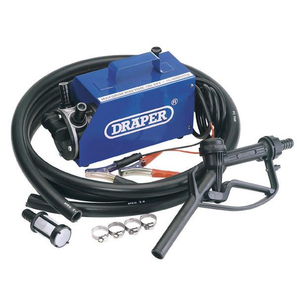 Draper 65673 FP1 12/24V Diesel Transfer Pump Thumbnail 1