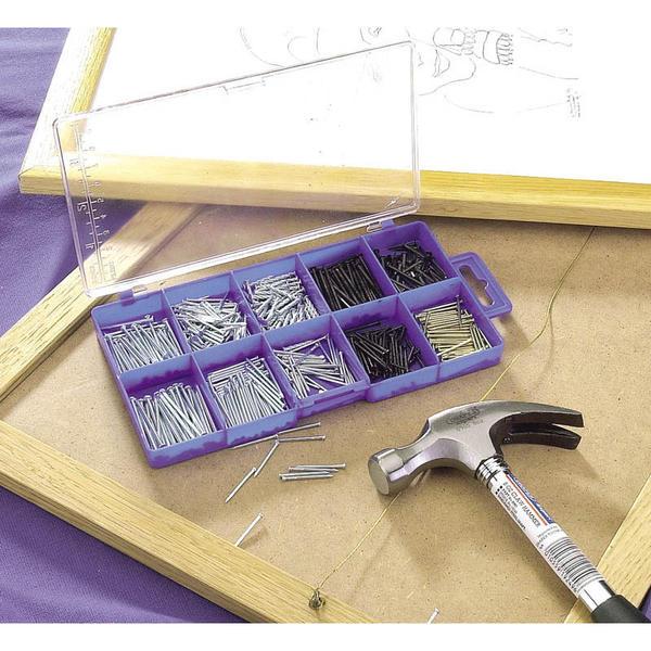 Draper 69042 HW12 Nail and Pin Assortment 485 Pce Thumbnail 2