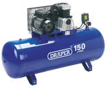Draper 69337 DA150/392B Expert 150L 230V 2.2kW (3hp)  Stationary Belt-Driven Air Compressor