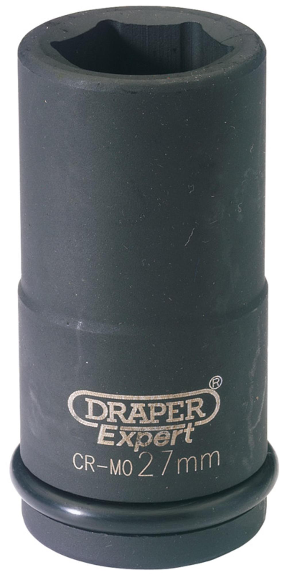 Draper 71916 411D-MM 30mm 3/4 Sq. Dr. 6 Pt Deep Impact Socket