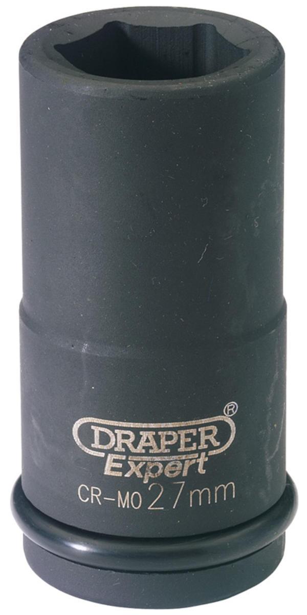 Draper 71916 411D-MM 30mm 3/4 Sq. Dr. 6 Pt Deep Impact Socket Thumbnail 1
