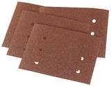 Draper 73524 APT87 10Pk 115 x 145mm 80 Grit Aluminium Oxide Sanding Sheets