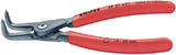 Knipex 75096 49 21 A31 210mm External Straight Tip Circlip Pliers