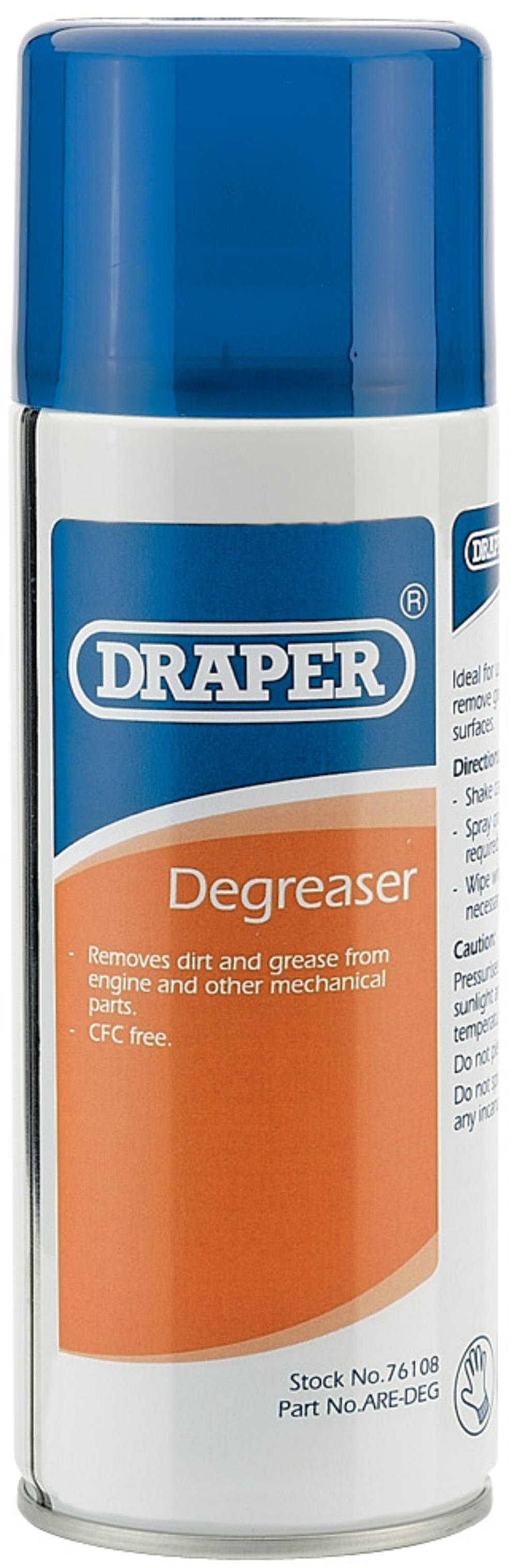 Draper 76108 ARE-DEG 400Ml Degreaser