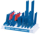 Draper 78202 CB50 Display of 50 Bolsters and Cold Chisels