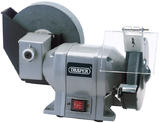 Draper 78456 GWD200A 230V 250W Wet and Dry Bench Grinder