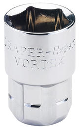 Draper 78899 VTX-AFA 5/8 6 Point 20mm Drive Vortex Socket