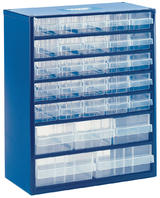 Draper Component Parts Organiser Cabinet Case 30 Drawer