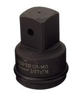 Draper 93499 812 1(F) x 3/4(M) Powerdrive Impact Socket Converter
