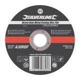 Flat Metal Cutting Disc 115mm x 3mm x 22.2mm Bore