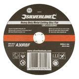 Silverline 103616 Professional Metal Cutting Disc Flat