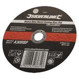 Silverline 103622 Professional Metal Cutting Disc Flat