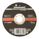 Silverline 103672 Professional Multipurpose Slitting Disc Flat 115 x 1 x 22.23mm