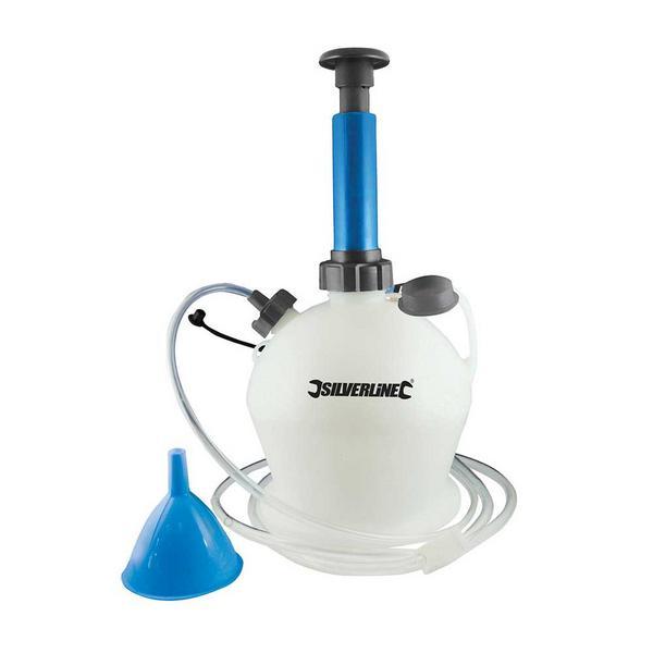 Silverline 104616 Oil & Fluid Extractor Pump 4Ltr Thumbnail 1