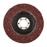 Silverline 199877 Aluminium Oxide Flap Disc 115mm 40 Grit