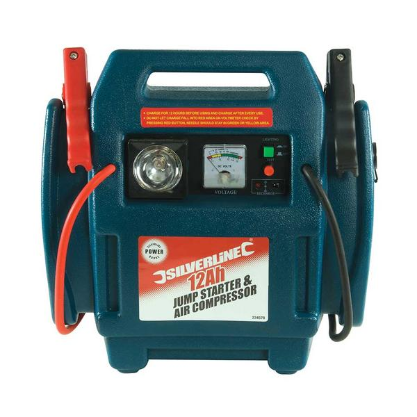 Silverline 234578 Jump Starter & Air Compressor Thumbnail 2