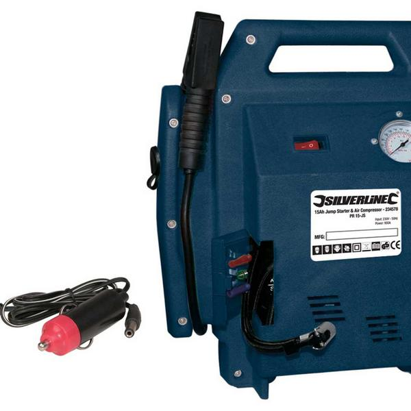 Silverline 234578 Jump Starter & Air Compressor Thumbnail 3