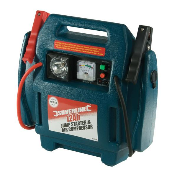 Silverline 234578 Jump Starter & Air Compressor Thumbnail 1