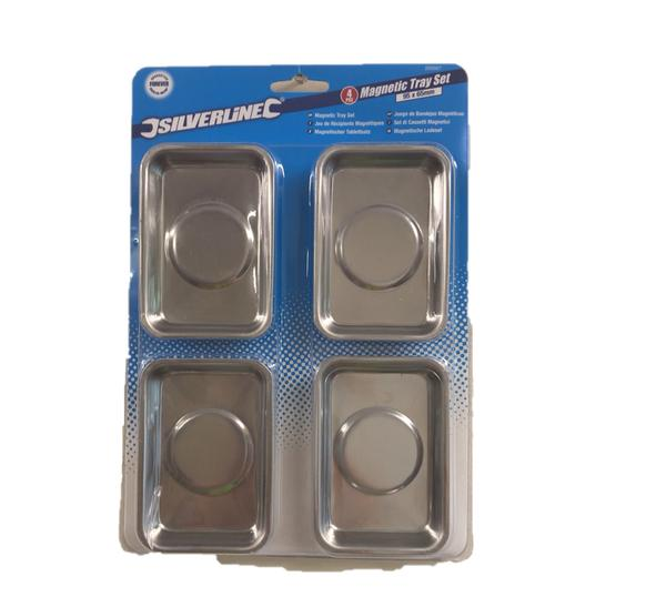 Silverline 250007 Magnetic Tray Set 4pce Thumbnail 2