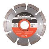 Silverline 282438 Laser-Welded Concrete/Stone Cutting Diamond Blade