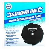 Silverline 282623 Brush Cutter Blade 8 Tooth