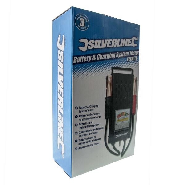 Silverline 282625 Battery & Charging System Tester Thumbnail 4